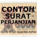 CONTOH SURAT PERJANJIAN